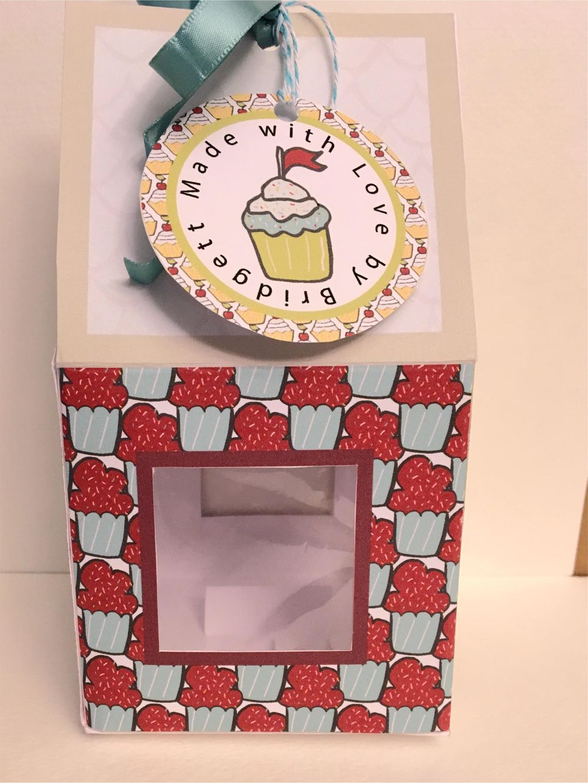Cupcake Box Cherries - image 7 - student project