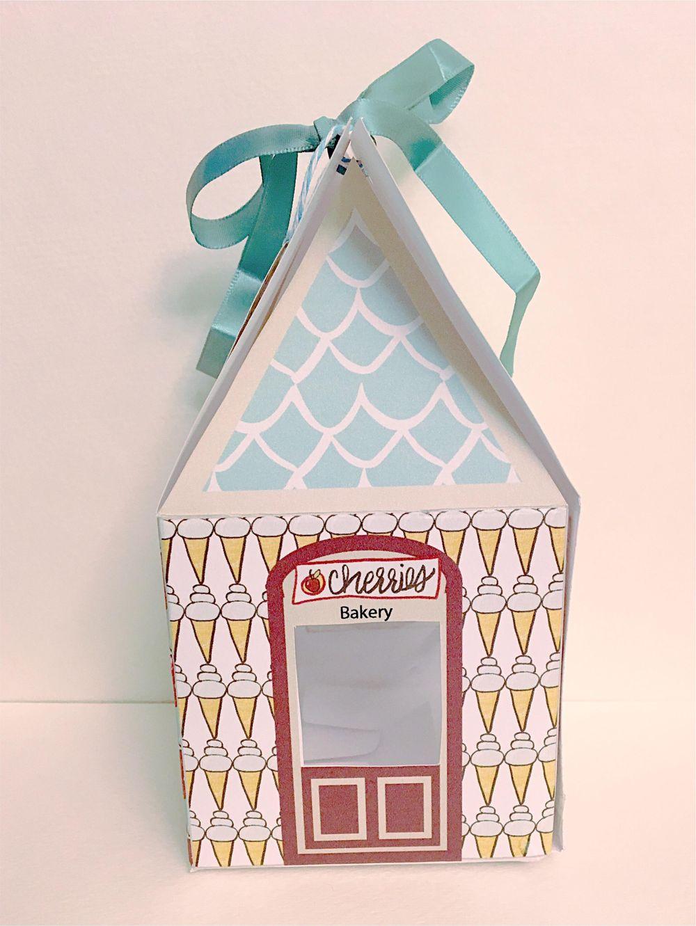 Cupcake Box Cherries - image 6 - student project