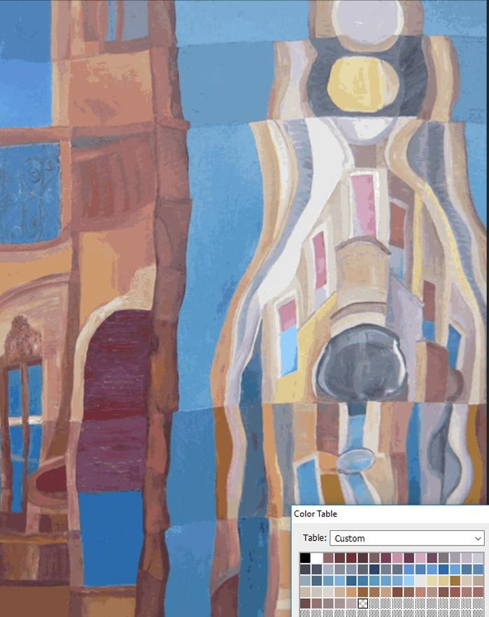 Bridge between traditional and digital painting - image 1 - student project