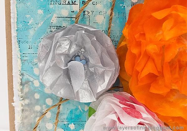 Sample Projects Tissue Paper Flowers - image 6 - student project
