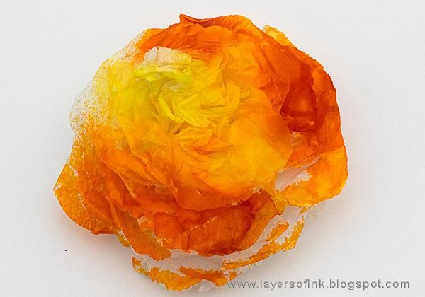 Sample Projects Tissue Paper Flowers - image 11 - student project