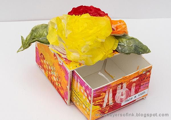 Sample Projects Tissue Paper Flowers - image 3 - student project