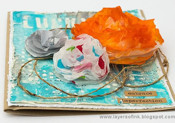 Sample Projects Tissue Paper Flowers - image 5 - student project
