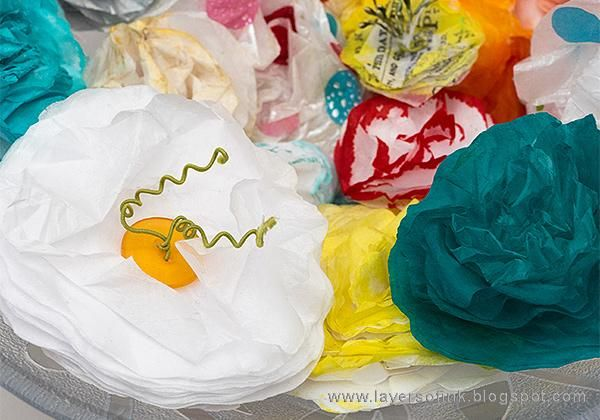 Sample Projects Tissue Paper Flowers - image 9 - student project