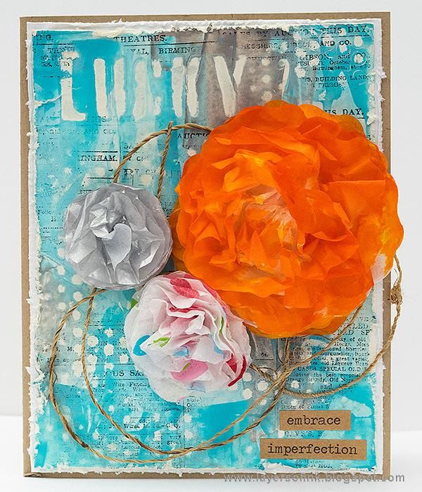 Sample Projects Tissue Paper Flowers - image 4 - student project