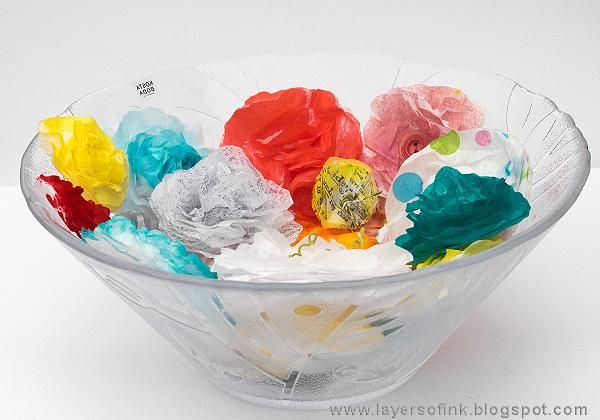 Sample Projects Tissue Paper Flowers - image 7 - student project