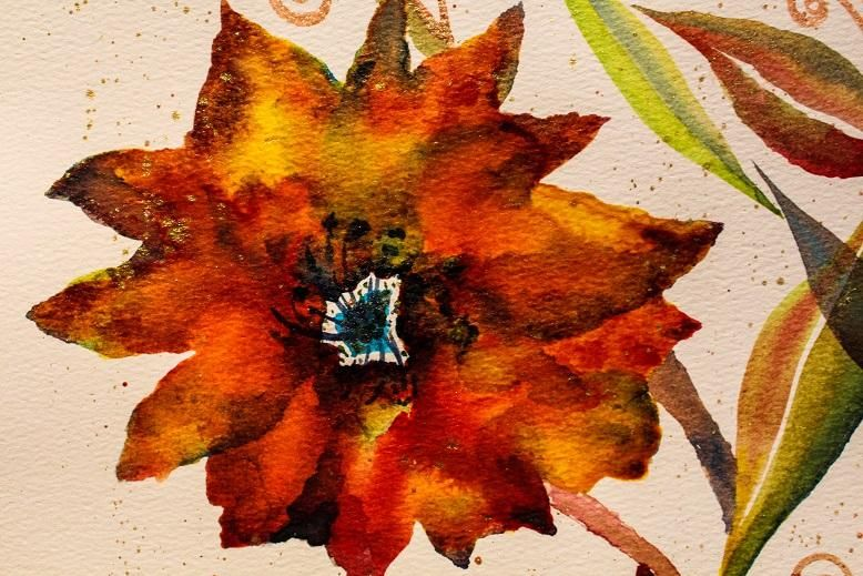 Round #2 to bring in the New Year....Maple Poppies... - image 3 - student project