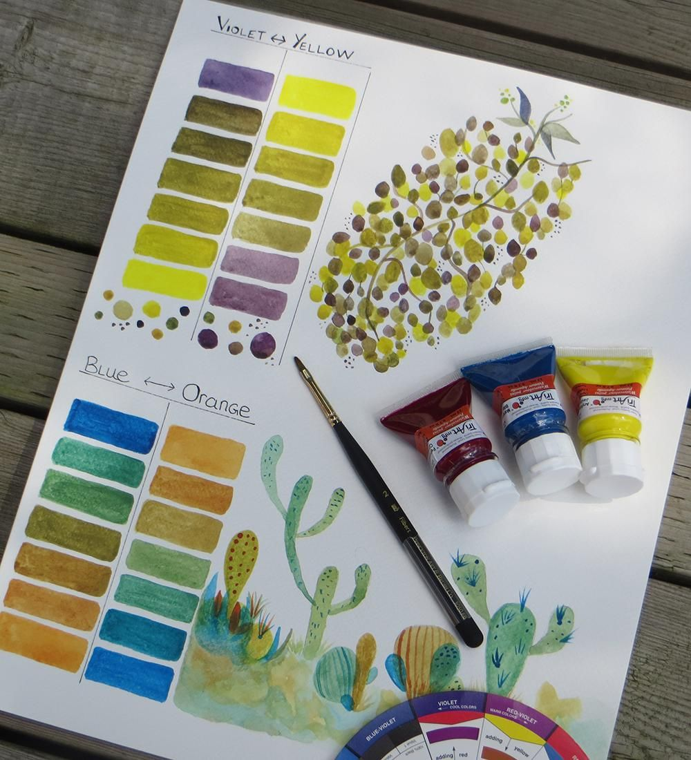 Basic Color Theory - Warm and Cool exercise update.... - image 5 - student project