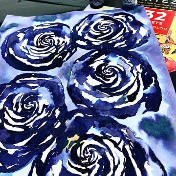 Thinking in INK - cafe au lait roses - image 5 - student project