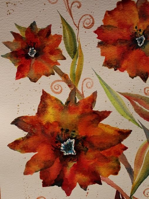 Round #2 to bring in the New Year....Maple Poppies... - image 2 - student project