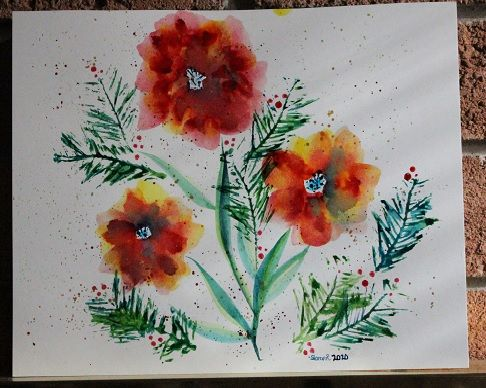 Round #2 to bring in the New Year....Maple Poppies... - image 7 - student project