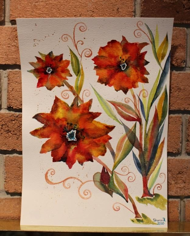 Round #2 to bring in the New Year....Maple Poppies... - image 1 - student project