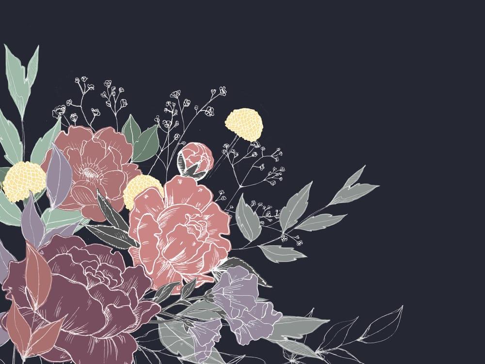 pastel bouquet - image 1 - student project