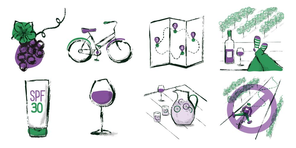 Wine Tasting by Bicycle in Sonoma - image 18 - student project