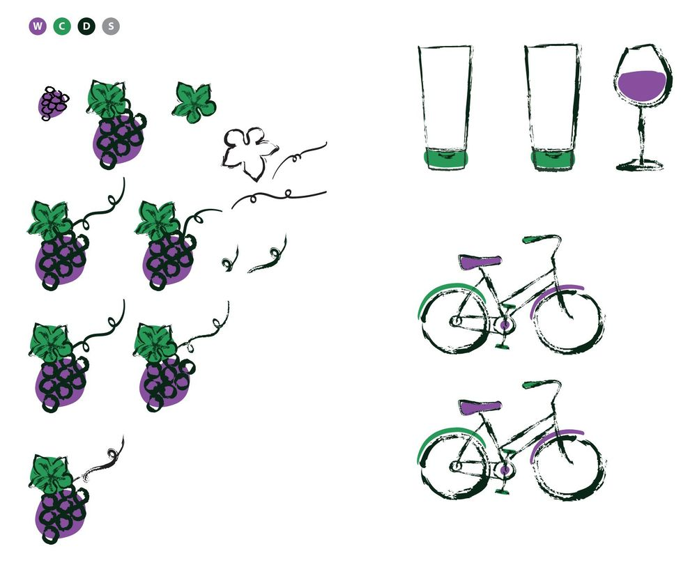 Wine Tasting by Bicycle in Sonoma - image 8 - student project