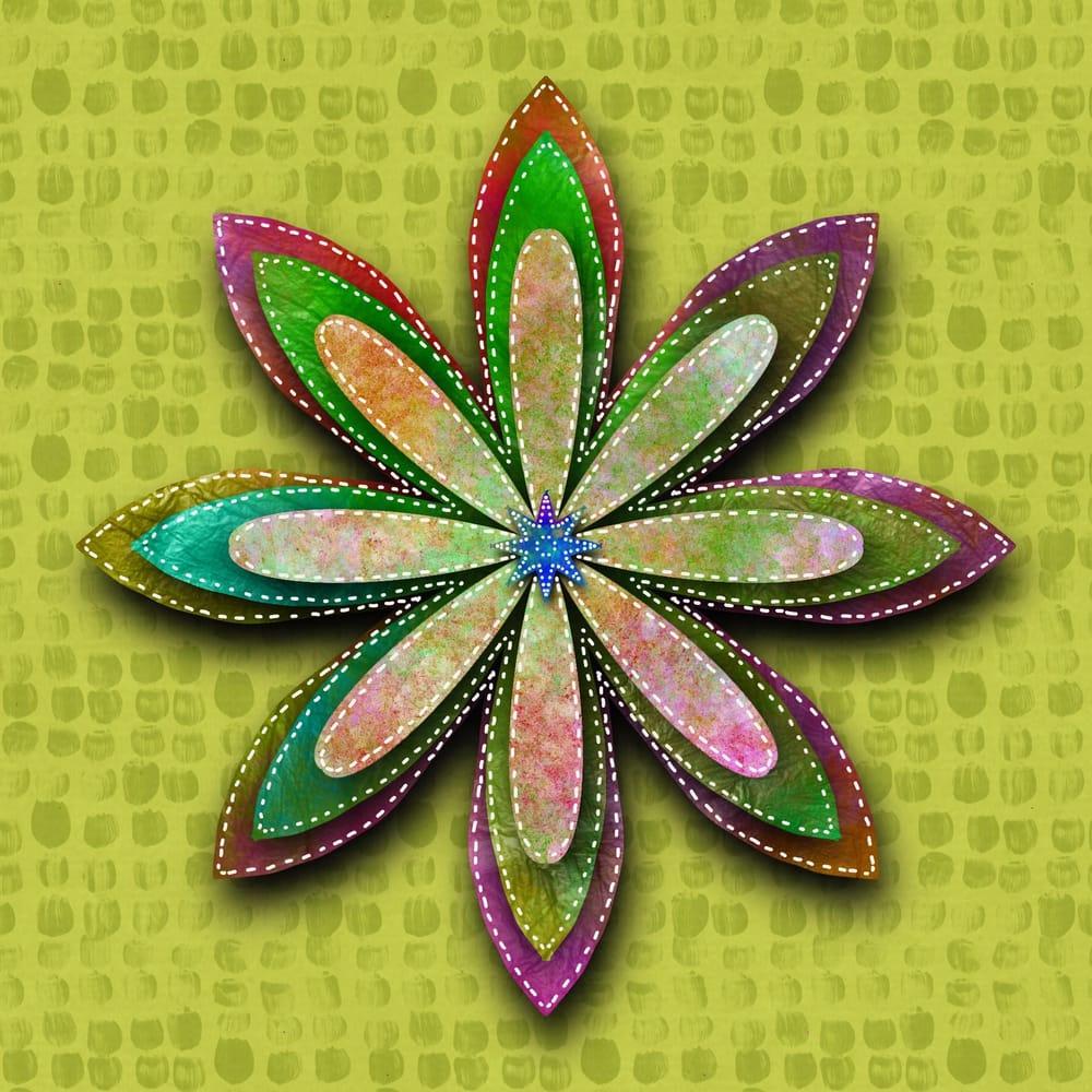 textured mandella - image 1 - student project