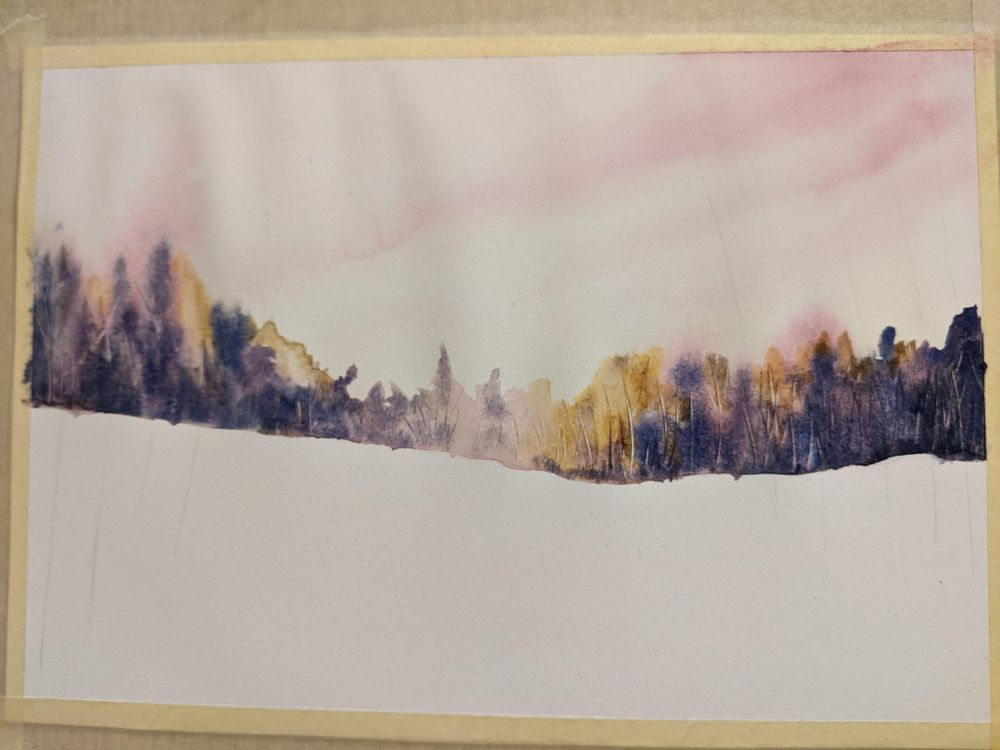 Snowy landscape - image 1 - student project