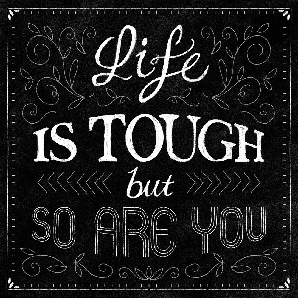 Life is Tough - image 1 - student project