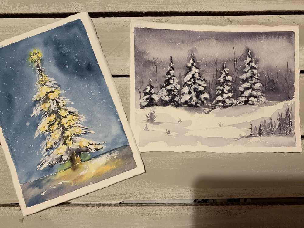 Winter Snowy Landscape - image 1 - student project