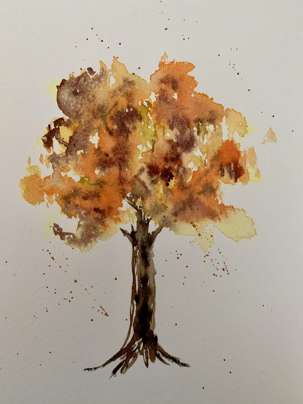 Autumn Tree - image 1 - student project