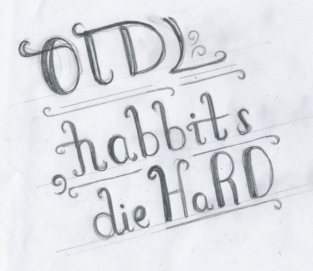 Old Habbits Die Hard - image 2 - student project