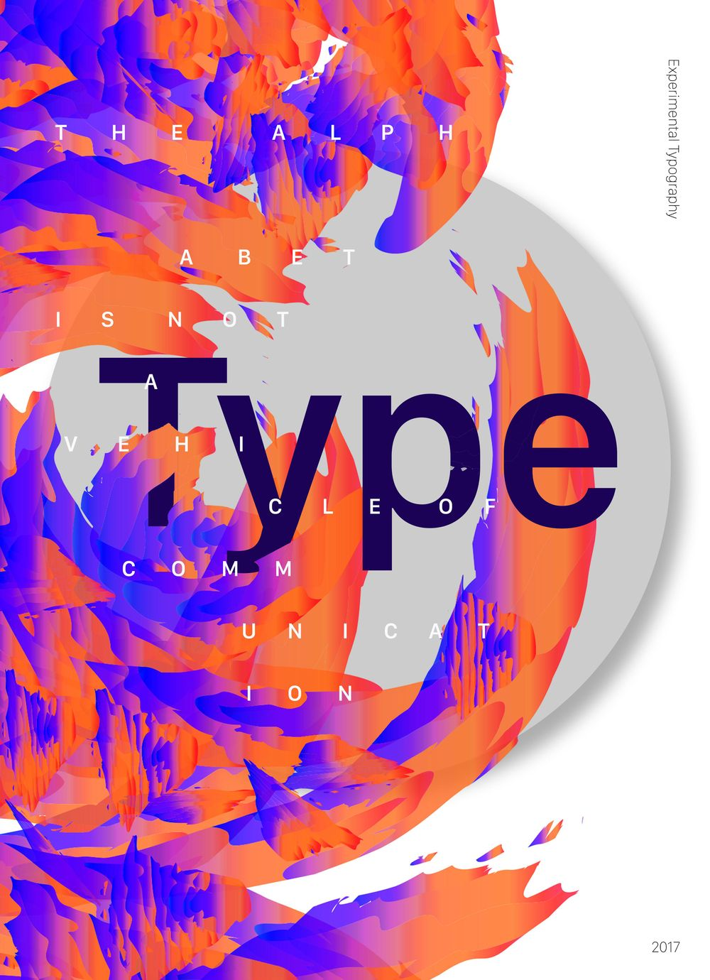Typography Poster - image 1 - student project