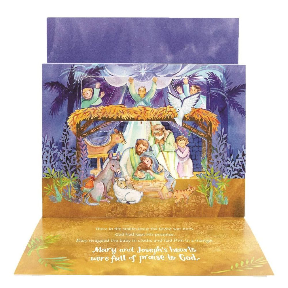 Pop-Up Nativity Book! - image 2 - student project