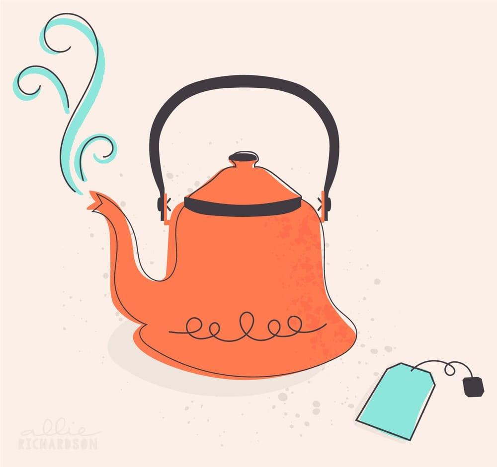 Tea Kettle Texture - image 1 - student project