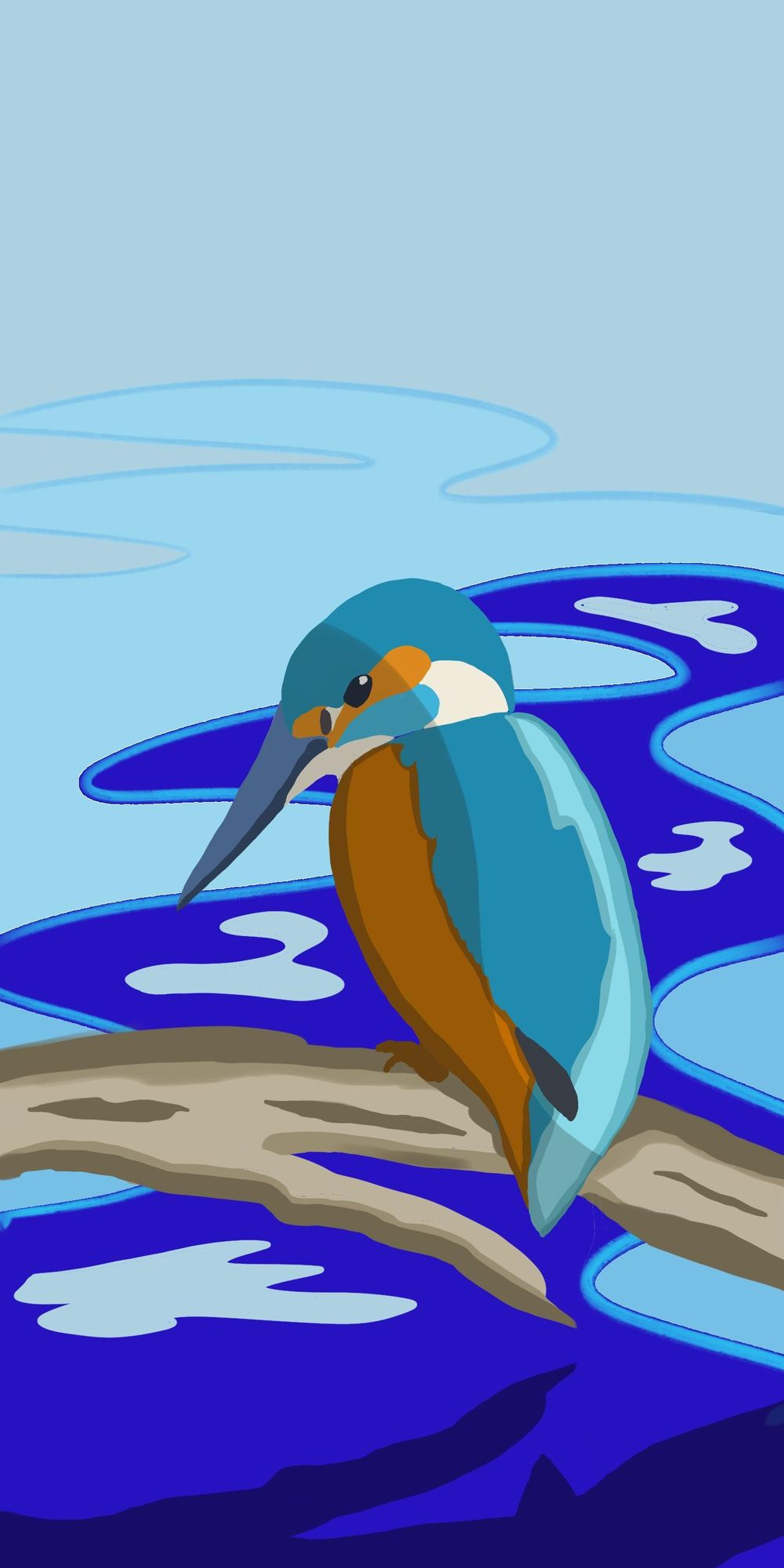 Mel's Kingfisher - image 1 - student project