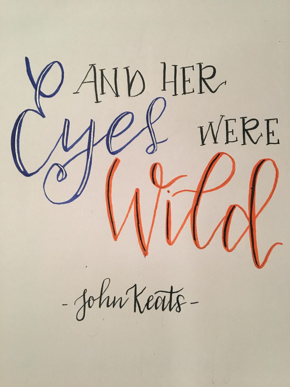 Keats Quote - image 1 - student project