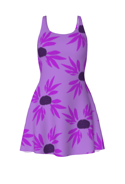 Purple floral - image 1 - student project