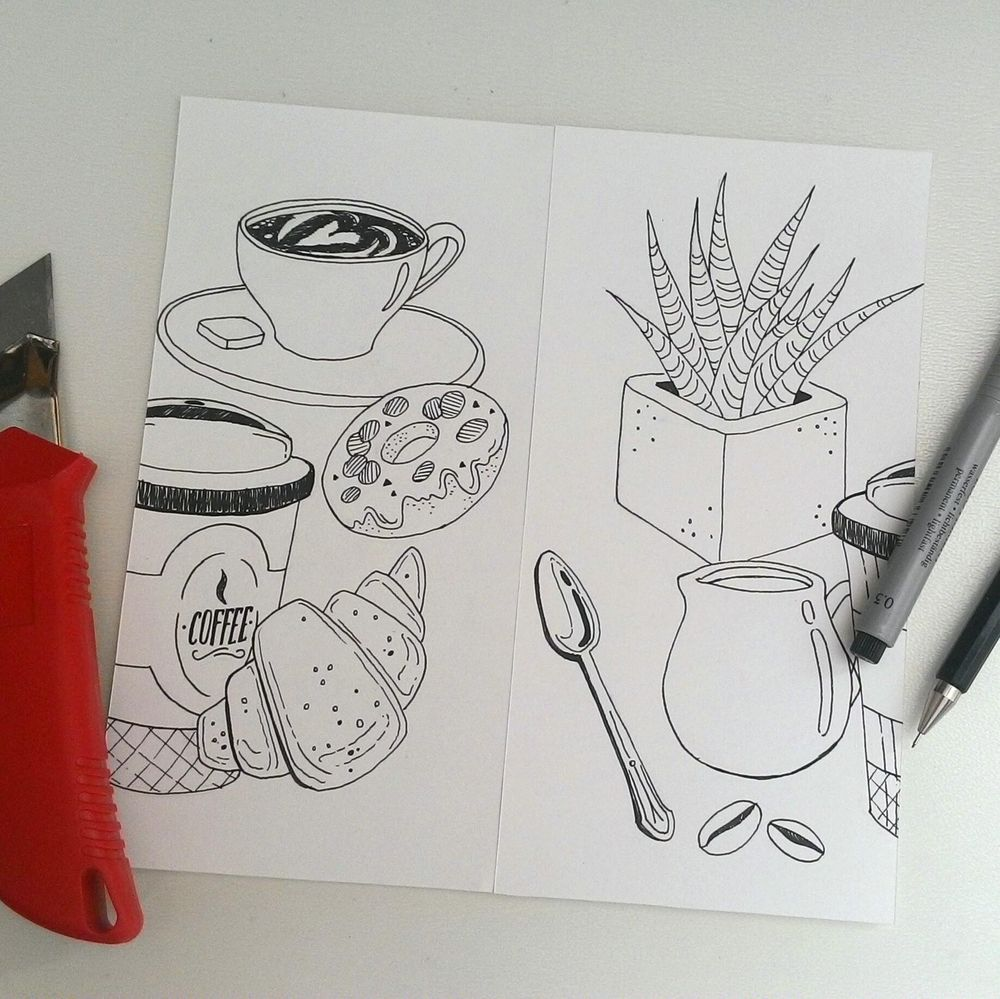 My coffee pattern:) - image 2 - student project