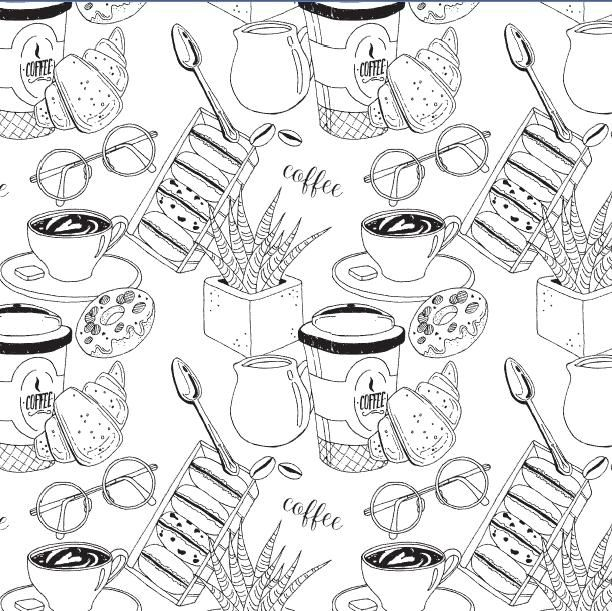 My coffee pattern:) - image 4 - student project