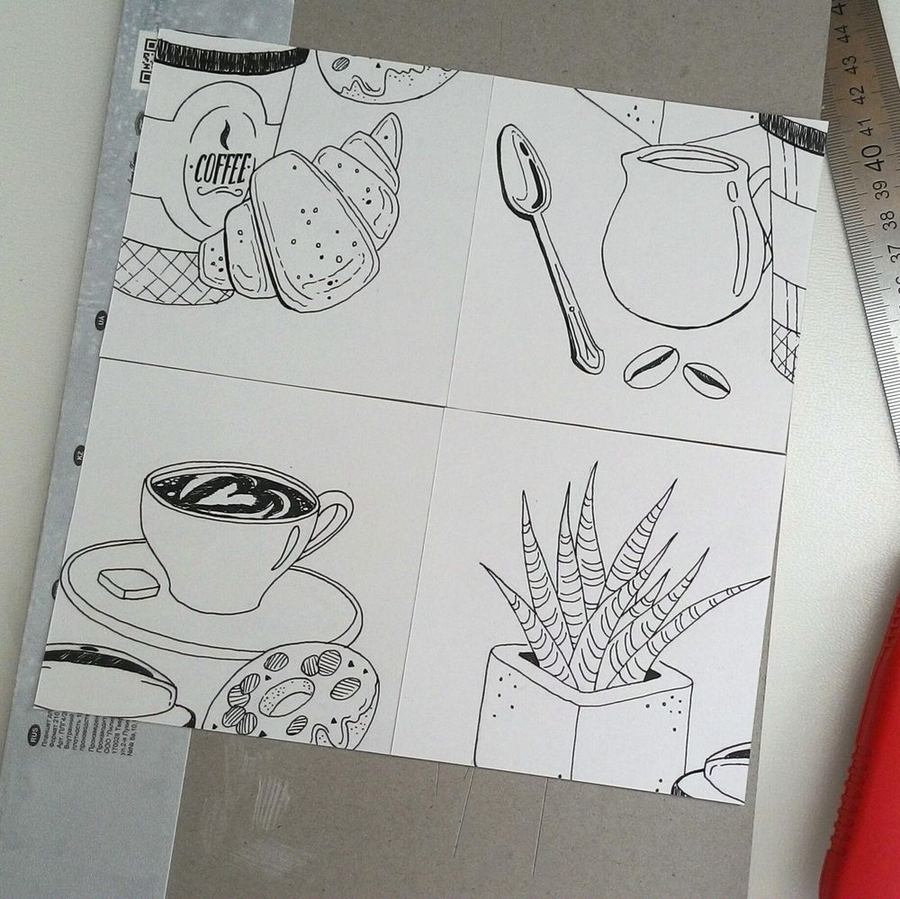 My coffee pattern:) - image 3 - student project