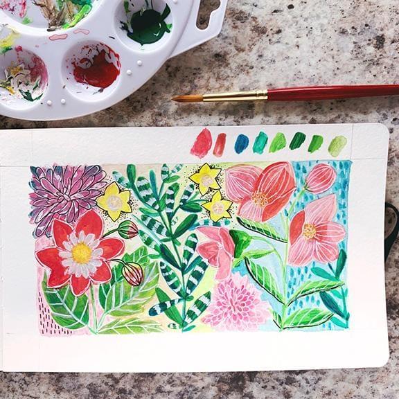 Botanical Garden - Gouache - image 3 - student project