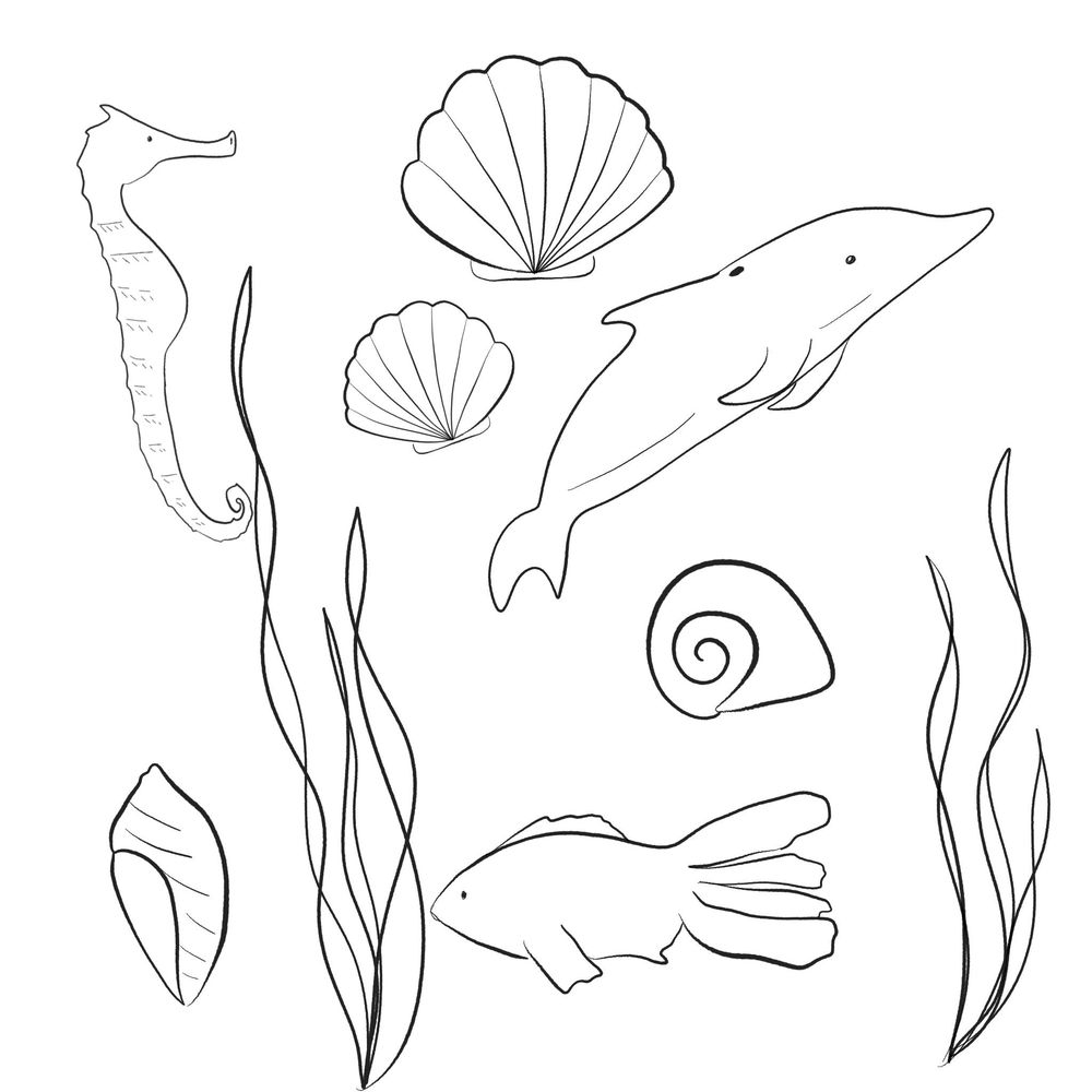 Sea Creatures - image 1 - student project