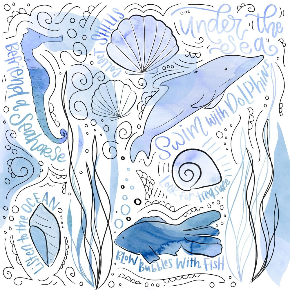 Sea Creatures - image 2 - student project