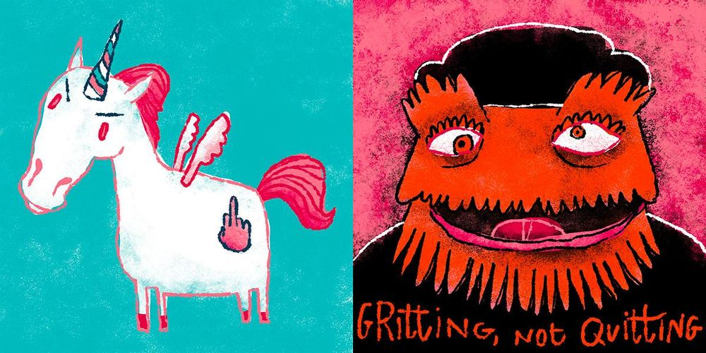 I Barfed Out My Soul And All I Got Were These Charming Animals - image 3 - student project