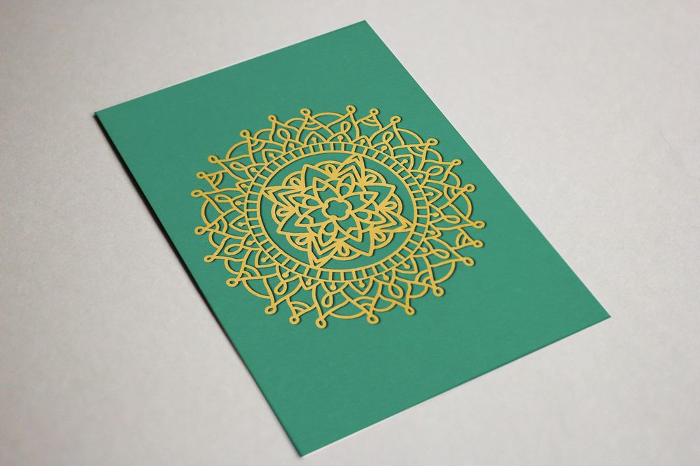 Paper cutting cards - image 5 - student project
