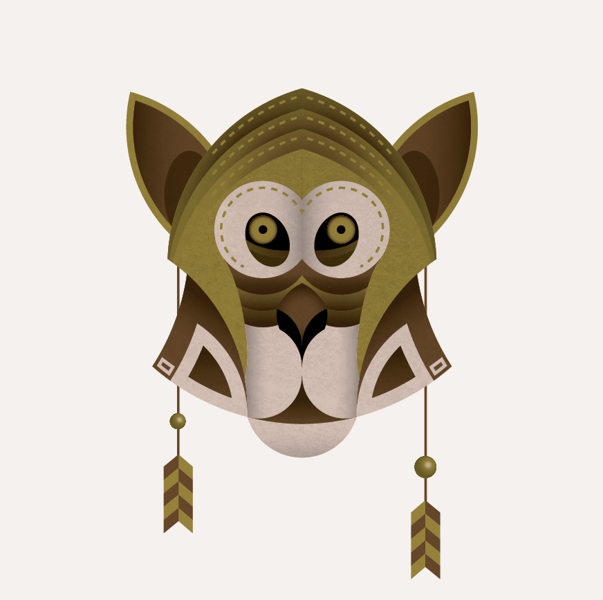 GEOMETRIC MACACO  - image 3 - student project