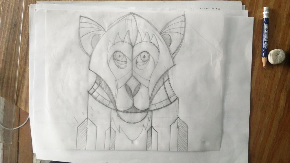 GEOMETRIC MACACO  - image 2 - student project