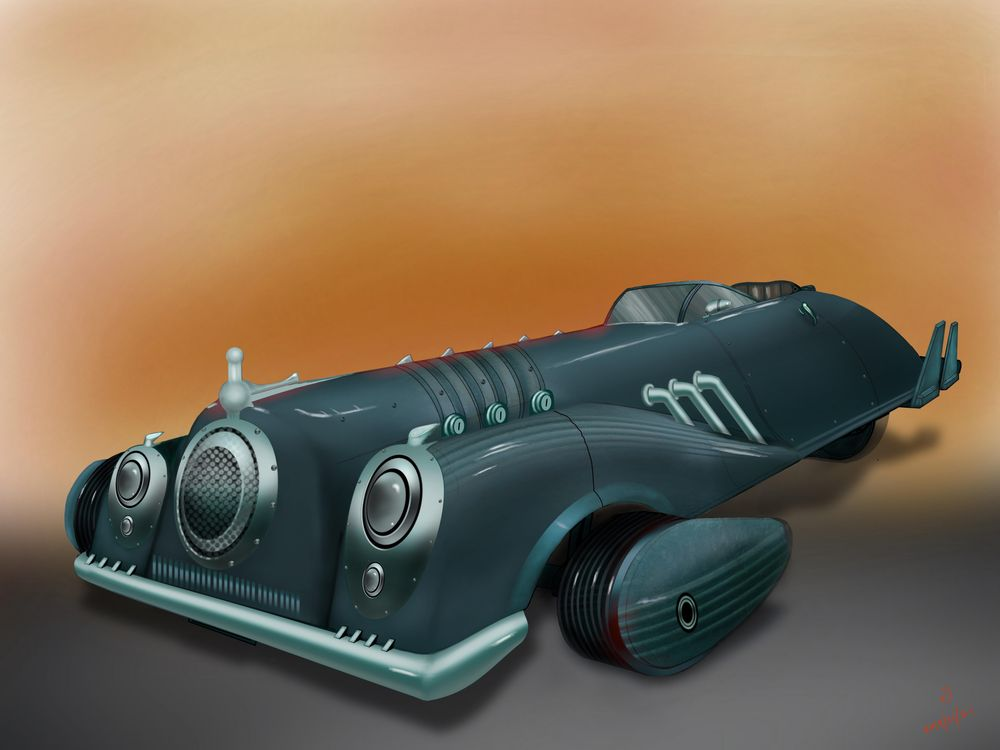 Some Machine rendering - image 3 - student project