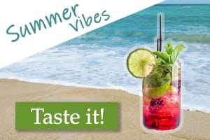 Fictional ad - summer coctail - image 1 - student project