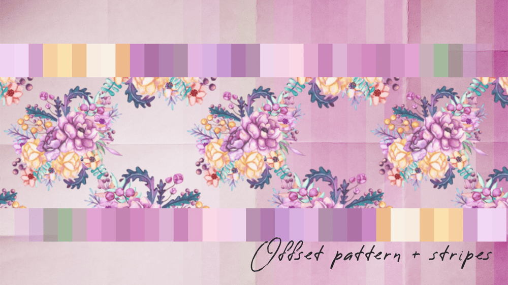 Flower patterns and stripes - image 3 - student project
