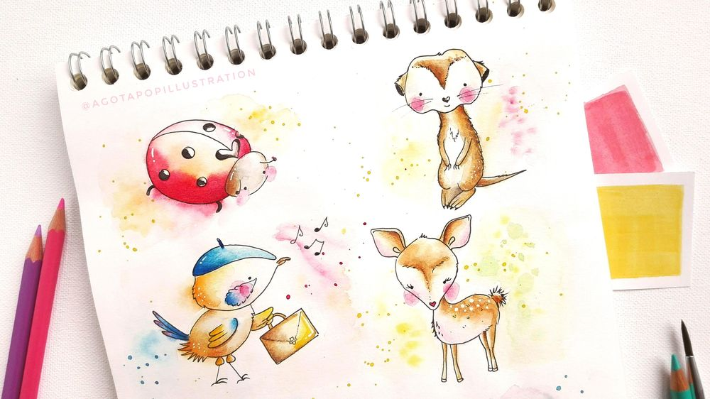 Cute animals - image 3 - student project