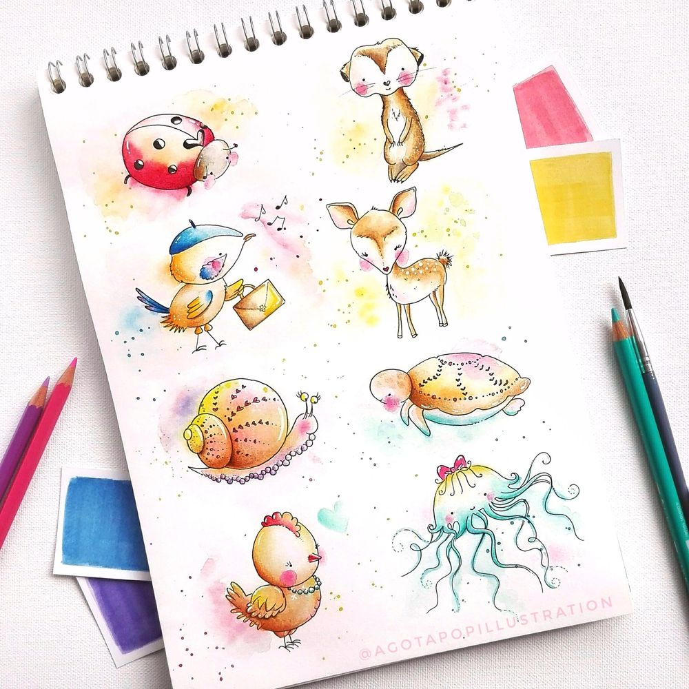 Cute animals - image 5 - student project