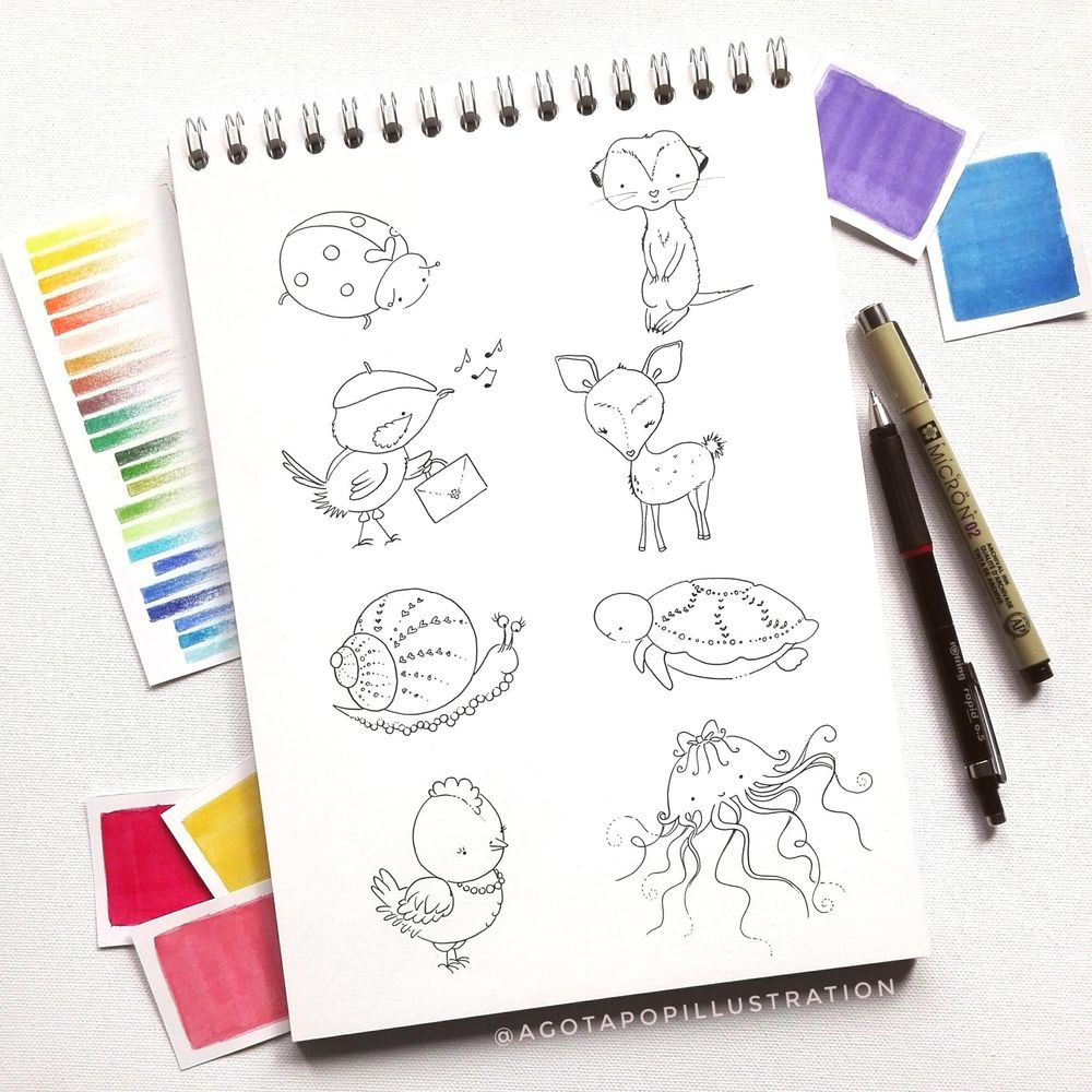 Cute animals - image 2 - student project