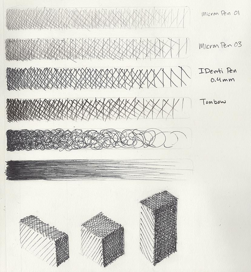 Brush & Pen Work - image 2 - student project