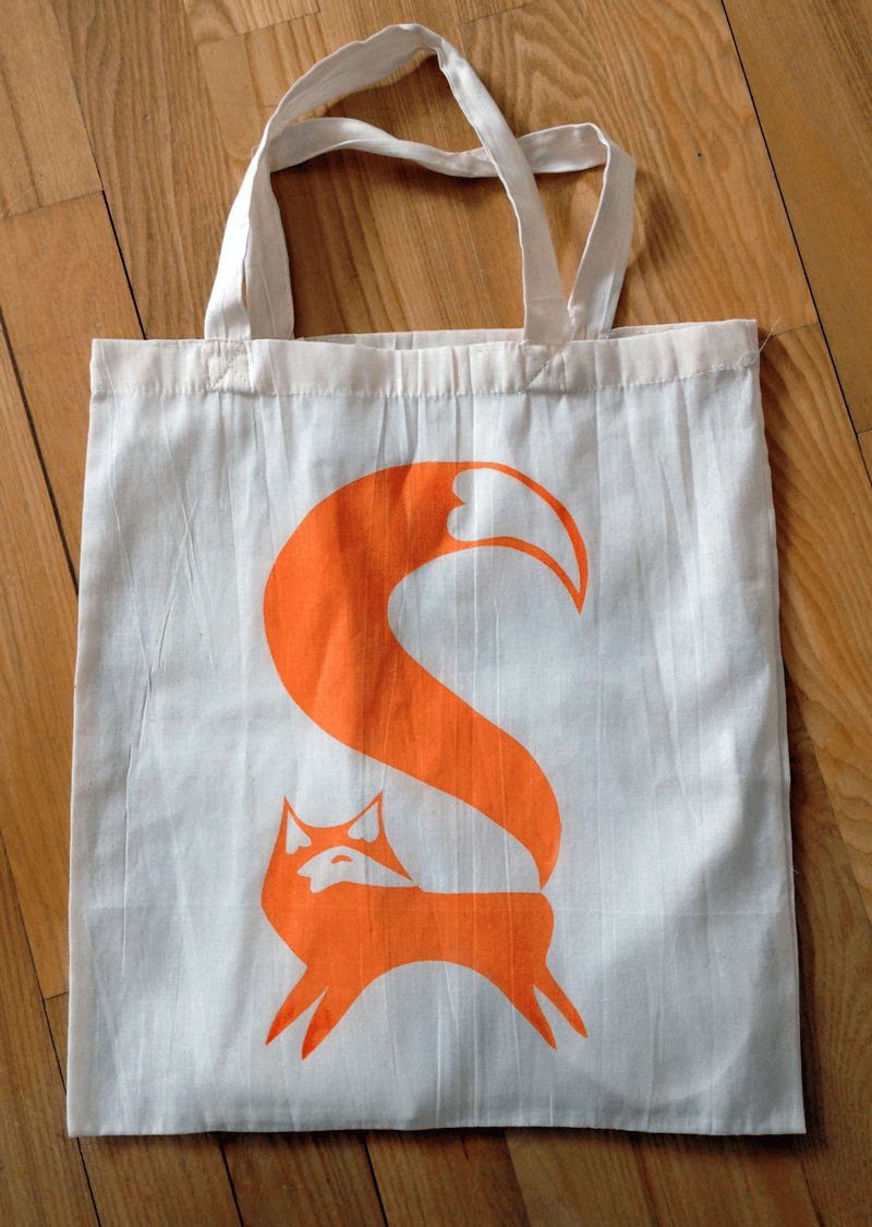 My Foxy Tote Bag - image 3 - student project