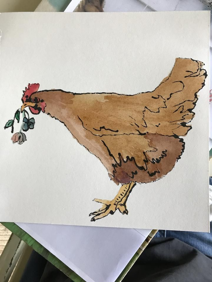 Chicken Print - image 1 - student project